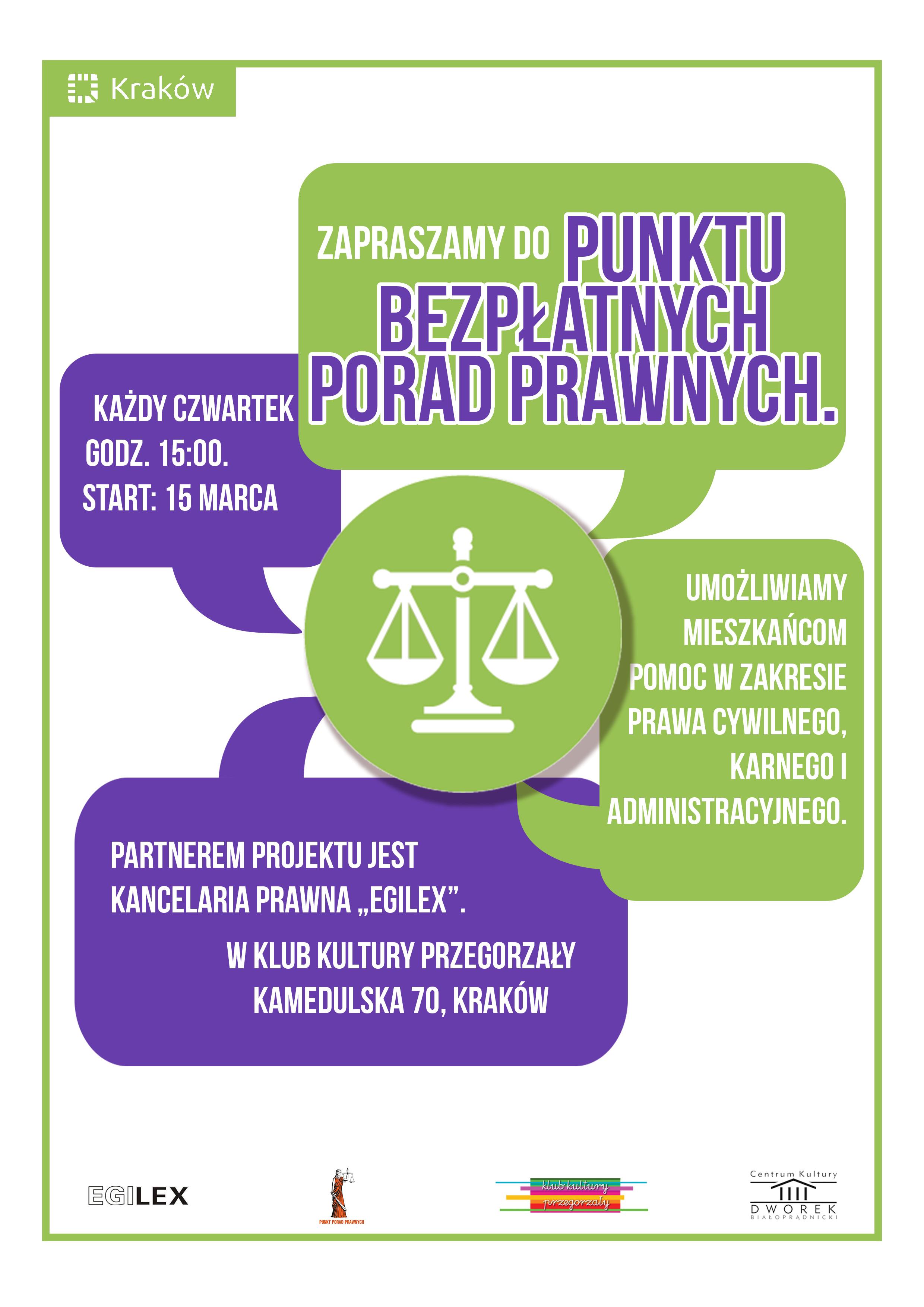 Porady prawne (plakat)