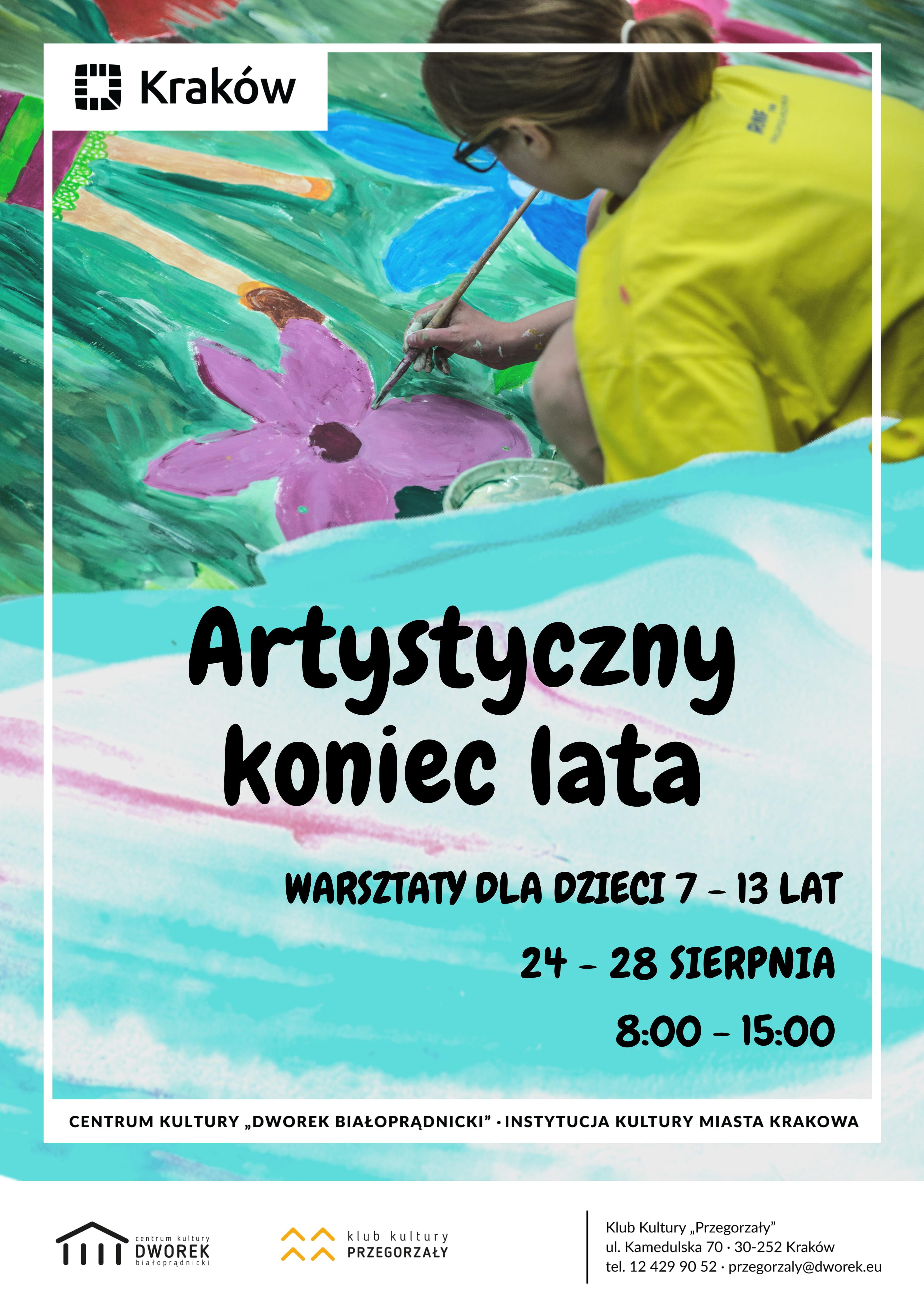 ARTYSTYCZNY KONIEC LATA_PLAKAT