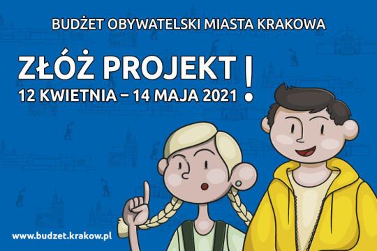 Grafika złóż projekt w budżecie obywatelskim