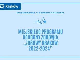 Plakat z nazwą programu